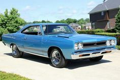 Gorgeous 68 Plymouth GTX