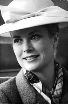 Princess Grace in Athens, 1962.
