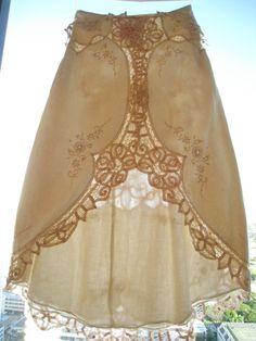 Gorge! Art Nouveau 70s Victorian Edwardian French by JessPlusCoutureSwim, $119.99