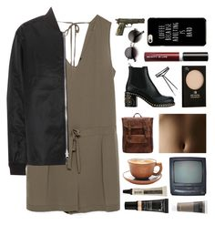 """""""Untitled #2770"""" by tacoxcat ❤ liked on Polyvore featuring Zara, Acne Studios, Miu Miu, Revlon, Beauty Is Life, ZeroUV, Aesop, Lancôme and Primera"""