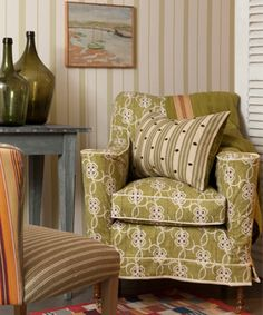 william yeoward chair in Fabulous green!