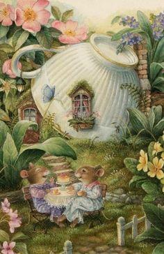 Ideas vintage house illustration susan wheeler for 2019 Susan Wheeler, Art And Illustration, Lapin Art, Art Fantaisiste, Art Mignon, Ouvrages D'art, Bunny Art, Fairytale Art, Fairy Art