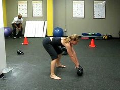 Julie's Tabata Kettlebell Circuit - I need a new Wednesday night routine.