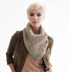 a nice snood to knit or needles n ° 8 - the hacks of Fafa Knit Fashion, Diy Crochet, Neck Warmer, Turban, Tricks, Cowl, Couture, Boutique, Knitting