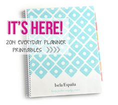 2014 Every Day Planner Printables