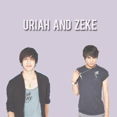 Divergent  def can see them as Uriah and zeke MoreUriah Divergent