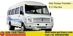 Are you looking for #Group, #Family and #Friends #Tours. Hire #Tempo #Traveller in #Chandigarh at lowest prices