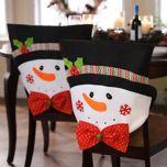 Mr. Snowman Chair Covers, Set of 2 | Kirklands
