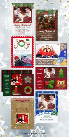 Photo Christmas Cards #photochristmascard #photoholidaycard #christmasphotocard ##holidayphotocard #familychristmasphoto #customchristmascards