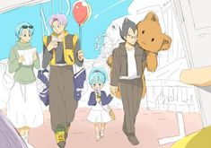 Such a sweet family <3 #DBZ