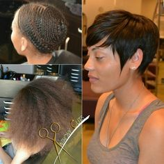 """""""Pixie sew in by #THEANTHONYAFFECT"""""""