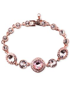 Show your bridesmaids how much you appreciate their love and support with an extra special gift. Givenchy's gorgeous rose gold-tone bracelet makes a perfect accessory for the big day and an amazing token of your friendship.