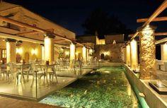 The Kinsterna Hotel Restaurant in Monemvasia, Greece http://www.mediteranique.com/hotels-greece/monemvasia/kinsterna-hotel-spa/