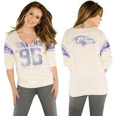 Baltimore Ravens Longsleeve Tee Shirt Kids Size Large 7 Logo NFL ...
