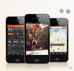 O Strava Cycling é um app para quem pedala, o uso da gamification, tornam as pedalas ficam mais prazerosas.