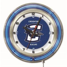 Use this Exclusive coupon code: PINFIVE to receive an additional 5% off the Creighton University Bluejays 19 Inch Neon Logo Clock at SportsFansPlus.com