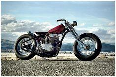 "Busch & Busch's '79 Yamaha XS650 - ""The Ridgit"" - Pipeburn - Purveyors of Classic Motorcycles, Cafe Racers & Custom motorbikes"