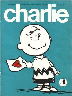 Charlie Mensuel - # 4 - Mai 1969 - Couverture de Schulz