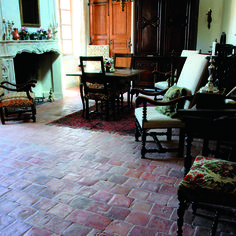 Antique Red Square Terracotta Flooring | Francois & Co.