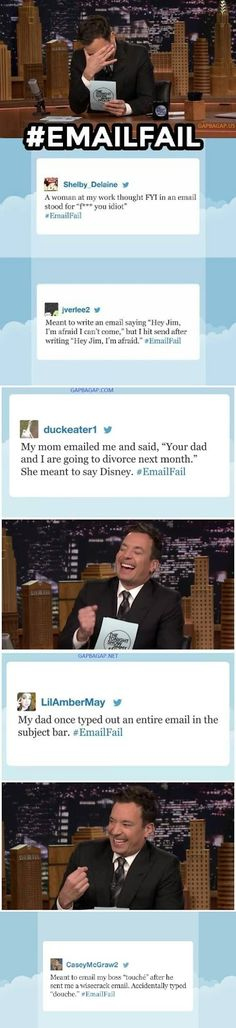 Top 10 Hilarious Tweets About #EmailFail ft. Jimmy...