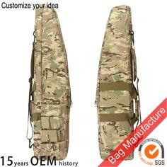Dependable 29 Tactical Gun Bag Aeg Rifle Sniper Case Gun Bag Mag Pouch Od Camping & Hiking