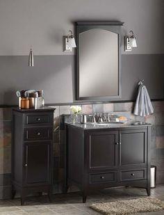 Foremost Berkshire Espresso Bathroom Floor Cabinet   Floor Cabinets U0026 Racks  At Hayneedle