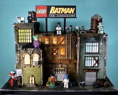 Lego Batman cake. I cannot even imagine how many hours were put into this. Amazing.