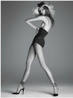 Karlie Kloss by Steven Meisel for Vogue Italia December 2011