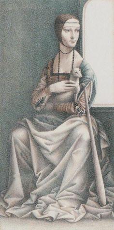 Queen of Wands - Dürer Tarot
