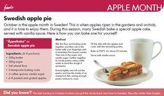IKEA Swedish Apple Pie Recipe