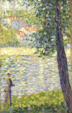 The Morning Walk, by Georges Seurat