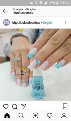 Nails Art Ideas 2019 26 Ideas in 2019 Classy Nails, Stylish Nails, Trendy Nails, Nail Shapes Square, New Nail Art, Homecoming Nails, Hot Nails, Gorgeous Nails, Nail Manicure