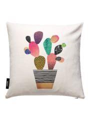 JuniqeHappy Cactus-JUNIQE Kissen