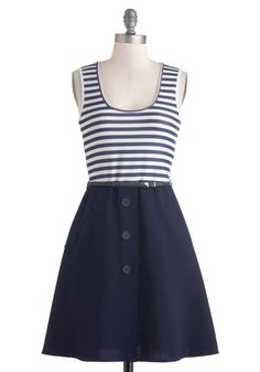 To go with Anchors Away. Stories of Sailing Dress, #ModCloth @mjcdreamcloset #matildajaneclothing