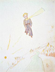 날고 있는 어린왕자 - 생텍쥐페리
