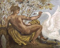 Mythology: 44 Works, Leda and the Swan, art from a Greek myth, with footnotes. A subject that has been a favourite with artists throughout the centuries.