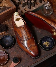 Crockett & Jones Shoes Ads, Men's Shoes, Shoes Sneakers, Dress Shoes, Mens Shoes Boots, Shoe Boots, Leather Men, Leather Shoes, Crockett And Jones