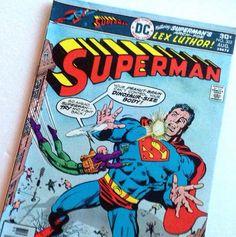 Superman (302) vintage DC Comics comic book - lex luthor collector comic by VinylRocket #TrendingEtsy