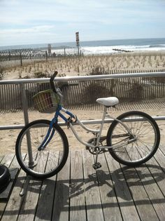 Would love to be on this bike right about now riding on the boardwalk!!!