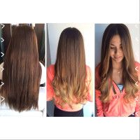 Long, Beautiful, Natural Ombre