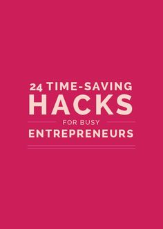 As a business owner, your time is limited. You're wearing several different hats and juggling many roles, each of which requires precious time out of your day. We're all looking for ways to make the most efficient use of the 24 hours we've been given. So