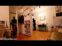 Intentionally small home: urban living in North Carolina - YouTube It looks a lot bigger than what it really is, great use of space.