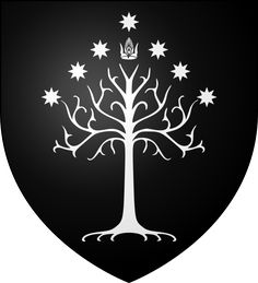 Blason Gondor - White Tree of Gondor - Wikipedia, the free encyclopedia