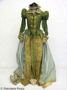 Riding habit worn by Gwyneth Paltrow in Shakespeare in Love (1998), 1590's