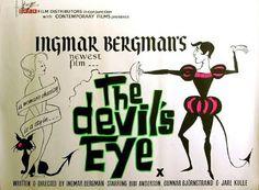 projetor antigo: O Olho do Diabo 1960 Leg mp4  1960 , Bibi Andersson , Drama/Comédia , Gertrud Fridh , Ingmar Bergman , Jarl Kulle , Legendado , Nils Poppe , Stig Järrel , Sture Lagerwall