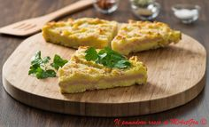Il Pomodoro Rosso di MAntGra: Gâteau napoletano (Gattò) Tofu, Cornbread, Baked Potato, Mashed Potatoes, Waffles, Eggs, Baking, Breakfast, Ethnic Recipes