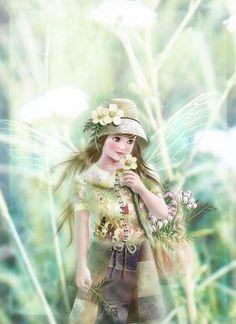 Fairy Paintings by Miharu Yokota | Cuded
