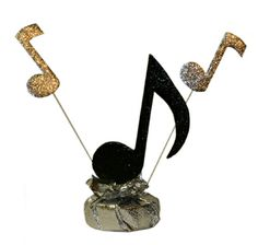 """Musical Note w/Flair Centerpiece - Approx. 8"""" wide x 14"""" tall.  - $13.95"""