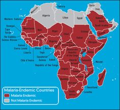 Malaria areas