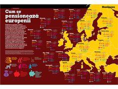 Cum se pensionează europenii